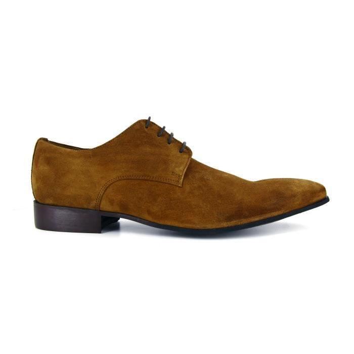 PIERRE CARDIN Chaussures Derby PC1605DA Sable - Couleur - Marron