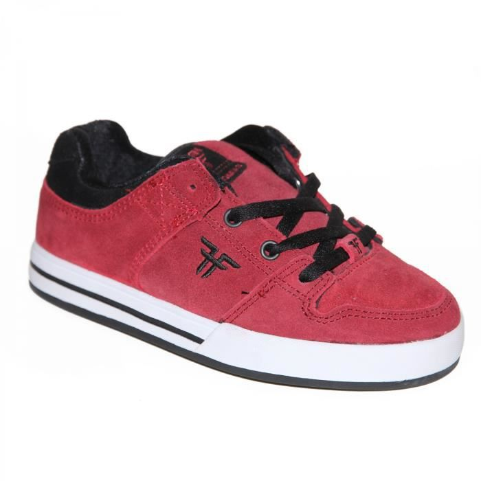 samples shoes FALLEN RIVAL SLIM CRIMSON BLACK KIDS / ENFANTS