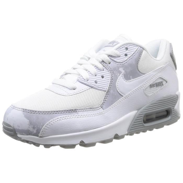 Nike baskets imprimées air max 90 pour femmes 3GHFD8 Taille 37 1 2