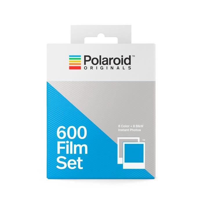 PAPIER PHOTO INSTANTANE POLAROID ORIGINALS 4844 16 Films instantanés 8 cou. POLAROID  ORIGINALS 4844 Film instantané couleur et noir blanc - Pour appareil ... c1d6c1bde610