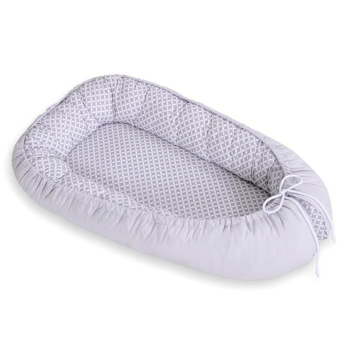 rducteur de lit bb gris - Reducteur De Lit Bebe