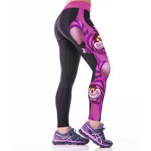 6fbb2a74110ea ... PANTALON DE SUDATION 3D Printed Sport Gym Leggings Yoga Jogging Pantalo  ...