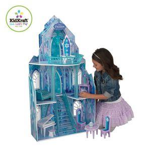Maisons de poup es la reine des neiges achat vente pas for Maison reine des neiges