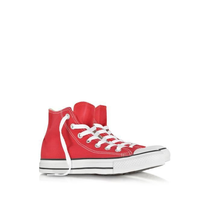 CONVERSE HOMME XM962141 ROUGE TOILE BASKETS MONTANTES 8UCeyduf