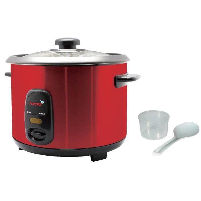 harper cuiseur riz hrc181 rouge achat vente cuiseur riz cdiscount. Black Bedroom Furniture Sets. Home Design Ideas