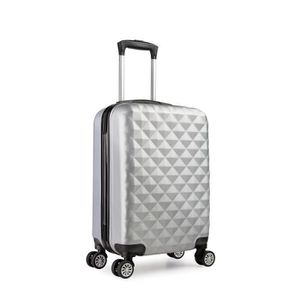 VALISE - BAGAGE Valise cabine 55 cm ABS bagage cabine rigide 4 rou