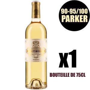 VIN BLANC X1 Château Coutet 2012 75 cl AOC Sauternes 1er Cru