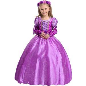 DÉGUISEMENT - PANOPLIE Princesse Raiponce Costume Robe de fête Robe 3-4 a