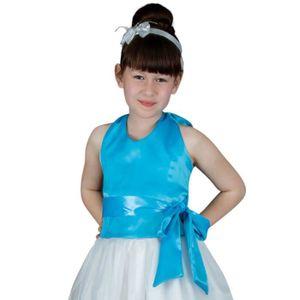 462cd4252c545 Bustier pour demoiselle d honneur fille - Bleu turquoise - 14 ans ...
