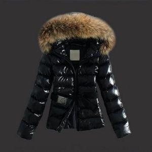 Doudoune femme à capuche fourrure parka fourrure manteau femme hiver ... 4a89d8941c4