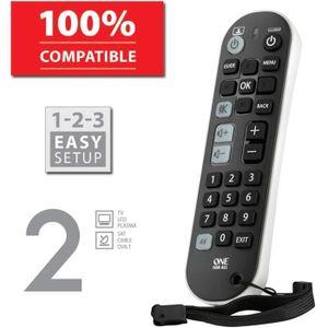 TÉLÉCOMMANDE TV ONE FOR ALL URC6820 Télécommande universelle Zappe