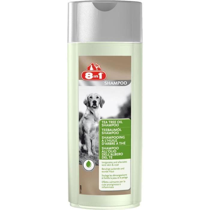 8in1 Shampooing à l'huile d'arbre à thé - Pour chien