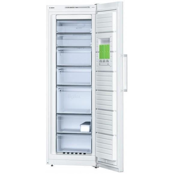 BOSCH GSN33VW31 - Congélateur armoire - 220L - Froid ventilé - A++ - L 60cm x H 176cm - Blanc