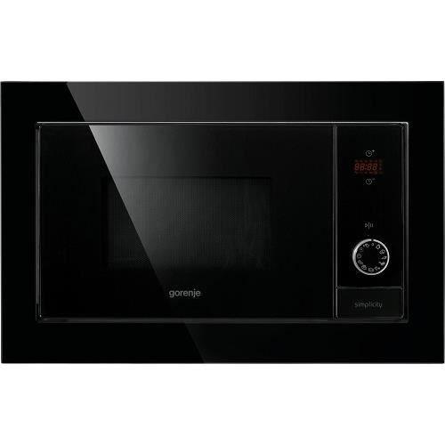 GORENJE BM6240SY2B - Micro ondes grill encastrable noir - 23 L - 900 W - grill 1000 W