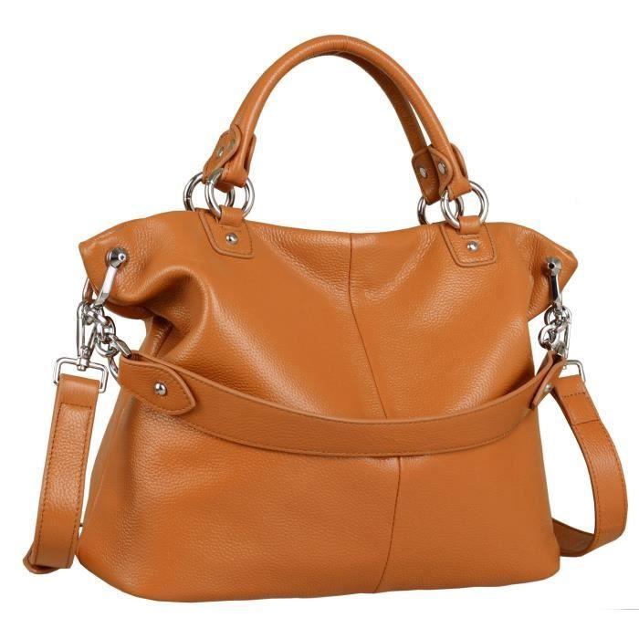 Femmes épaule en cuir Sacs à main Fourre-tout Sacs Satchel sacs croisésD2Q6Z