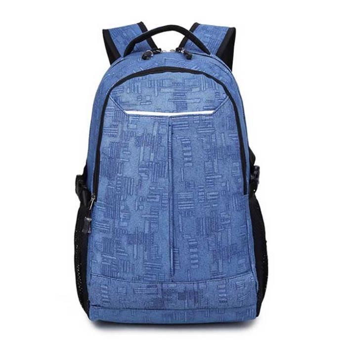 LYT® Sac à dos toile pour hommesport et voyage Bleu clair