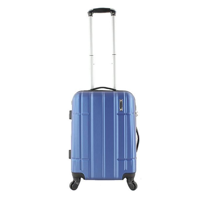 Valise cabine rigide Madisson Paris 55 cm low cost Bleu aIRHva