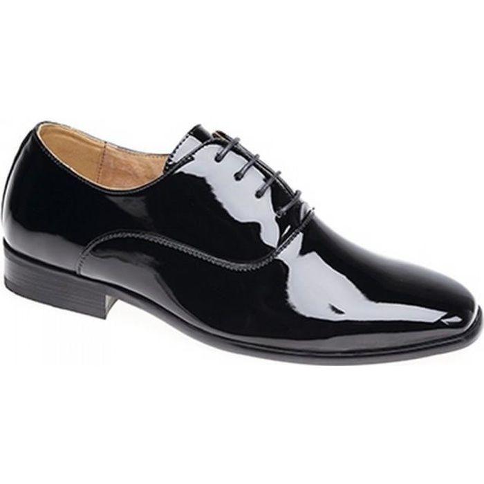 Goor - Chaussures de ville en cuir verni à lacets - Homme