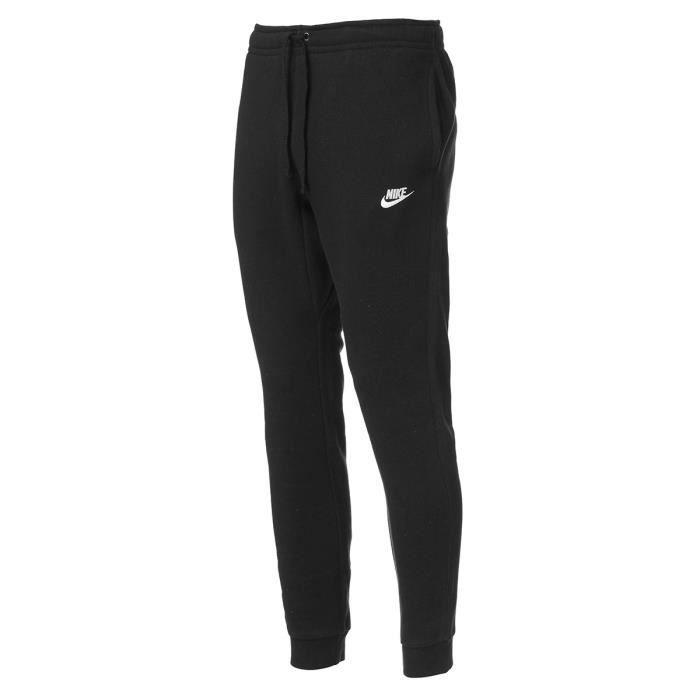 3d5c0f01fff NIKE Pantalon de jogging NSW Flc Club - Homme - Noir Noir Noir ...