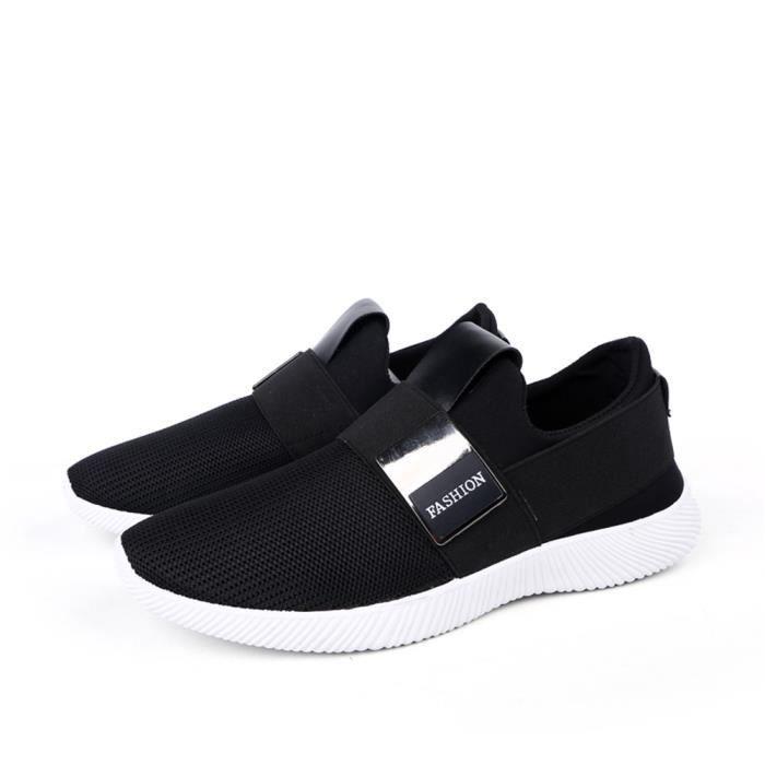 Sneaker Hommes Chaussures de sport Mocassin Meilleure Qualité Confortable De Marque De Luxe Durable Nouvelle Mode 2017 balnc ucSU2op