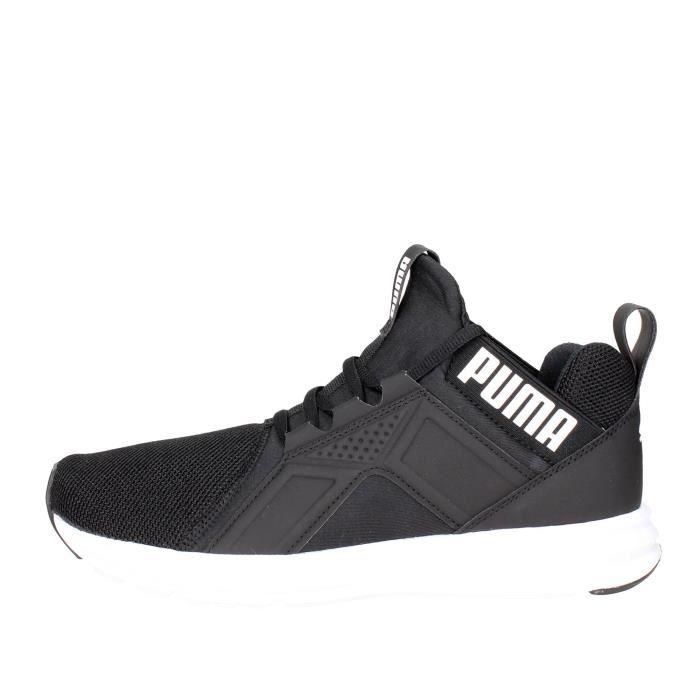 Puma Haute Sneakers Homme Noir/Blanc, 45