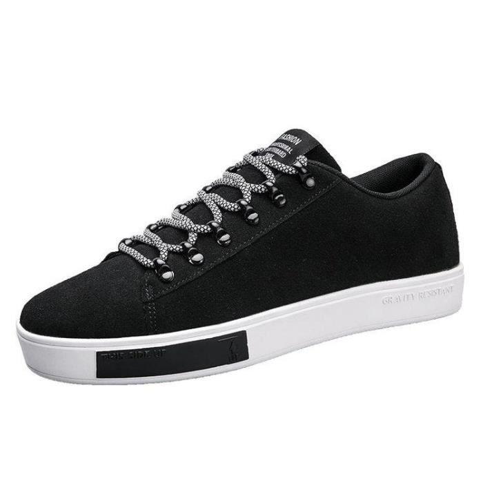 Homme éLéGant 44 Textile Chaussures Des m1777 Noir R31144794 Chocs Meilleure Absorption Un Mode DéTente Look CttxpHvq