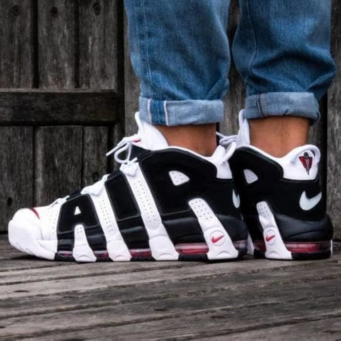 Nike Air More Uptempo White and Black