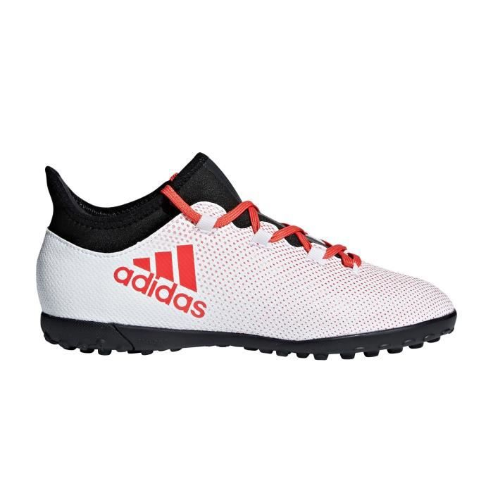 outlet store 8aac4 d6af8 Chaussures football Chaussure de Football adidas X Tango 17.3 TF Blanc  Junior