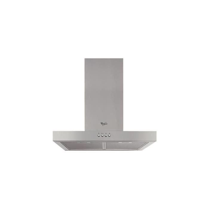 HOTTE WHIRLPOOL Hotte Décorative 60cm, Box, Inox, aspira