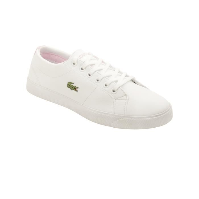 Chaussures Marcel LCR SPJ Blanc Rose - Lacoste