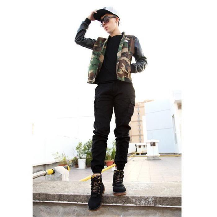 Homme bottine 2017 Martin Bottine Marque de luxe Haut qualité Confortable Nouvelle Mode Hiver Durable Hommes Grande Taille 46 KVZfT