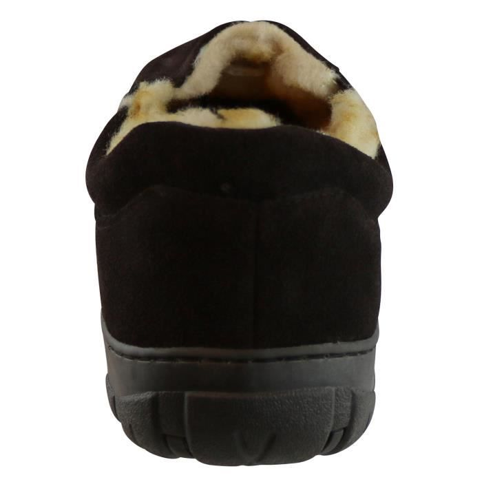 Conway Suede Véritable Lined Slipper UKA9B Taille-47