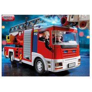camion de pompier avec echelle achat vente jeux et jouets pas chers. Black Bedroom Furniture Sets. Home Design Ideas