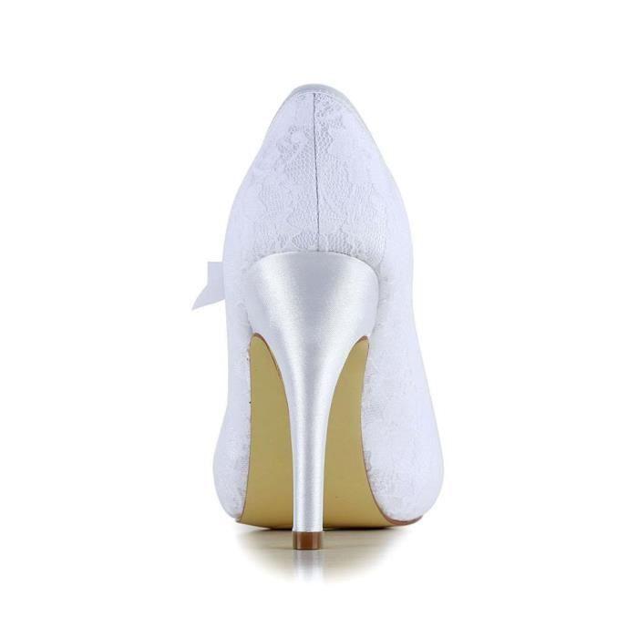 Jia Jia Wedding 37016A chaussures de mariée mariage Escarpins pour femme