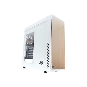 ZALMAN Boitier PC R1 - Moyen tour - Format ATX - Blanc
