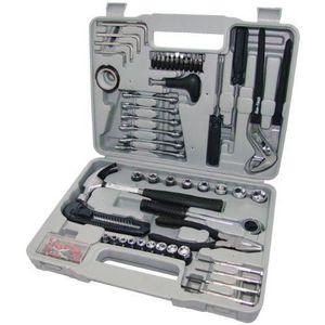 PACK OUTIL A MAIN Am-Tech Kit d'outils 141 pièces avec étui moulé (I