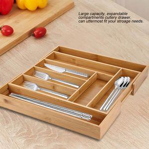 RANGE COUVERTS Range-couverts de cuisine avec tiroir et fourchett