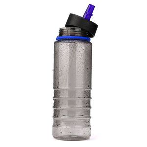 GOURDE Boissons Sports Hydratation Paille Bouteille d'eau