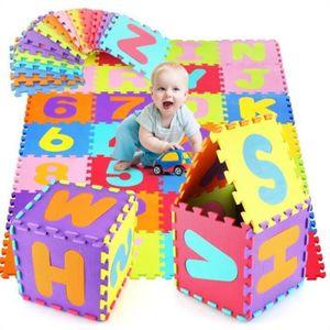 TAPIS DE JEU Puzzle Tapis de Jeu Enfant en Mousse EVA, Dalle Mo