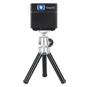 Vidéoprojecteur Mini Vidéoprojecteur de Poche Cube Exquizon S6 DLP
