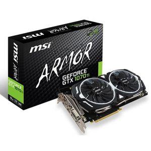 CARTE GRAPHIQUE INTERNE Carte graphique GeForce GTX 1070 Ti ARMOR 8G