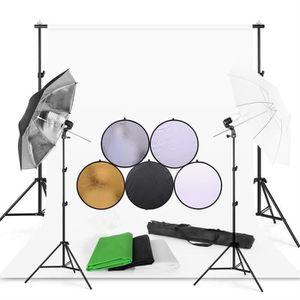 KIT STUDIO PHOTO Ensemble de kit de lumière de studio parapluie