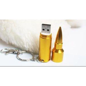 PC EN KIT Clé USB 2.0 64Go Balle de fusil couleur bronze