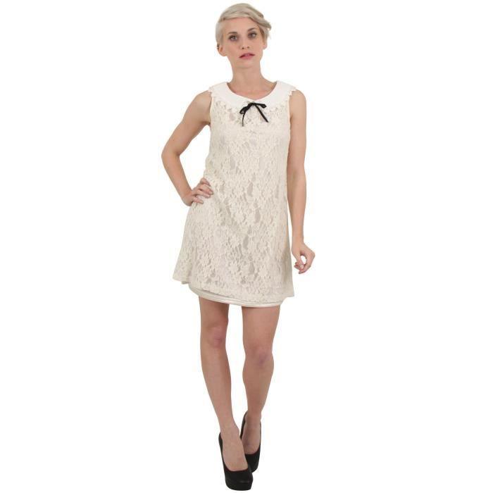 e7e54892611002 Blanc Sunshine Sans Sm Robe Manche Femme Achat tQrdhCxs