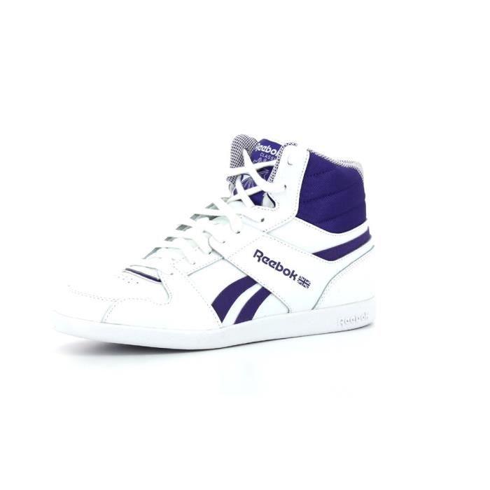 d477705e9135a Baskets montantes Reebok Rhythmcity Mid Blanc Blanc - Achat   Vente ...