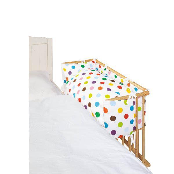 tour de berceau cododo pois achat vente parure de lit b b 4035769029821 cdiscount. Black Bedroom Furniture Sets. Home Design Ideas
