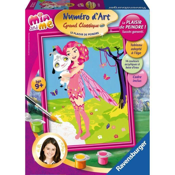 Mia et moi num ro d 39 art moyen format achat vente jeu - Photo d art grand format ...