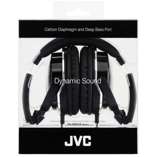 Jvc Ha S660 Casque Arceau Filaire 1000 Mw Noir Casque