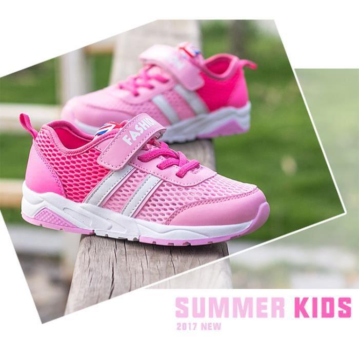 Basket chaussures de sport en maille pour enfant