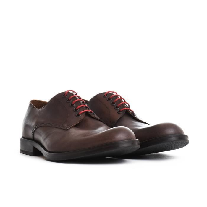 ELEVENTY HOMME 979SR0016SCA190054 MARRON CUIR CHAUSSURES À LACETS 9S86lovm